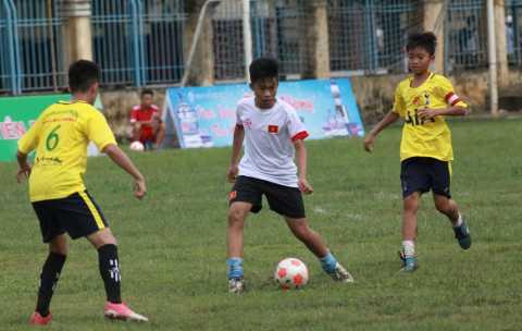 Giải bóng đá Hoa Phượng, Cúp Báo Hải Phòng lần thứ 8: Đội thiếu niên Ngô  Quyền và Thủy Nguyên vào bán kết